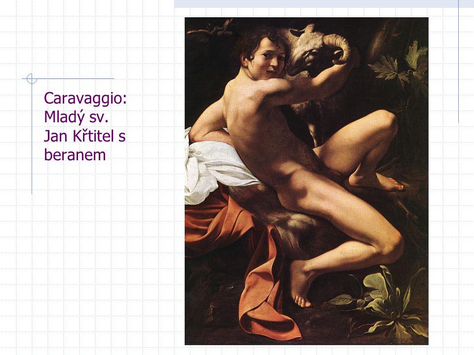 Caravaggio: Mladý sv. Jan Křtitel s beranem