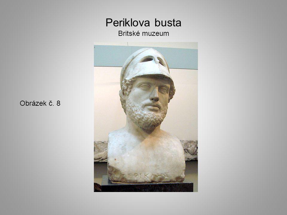 Periklova busta Britské muzeum Obrázek č. 8