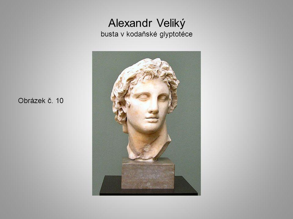 Alexandr Veliký busta v kodaňské glyptotéce Obrázek č. 10