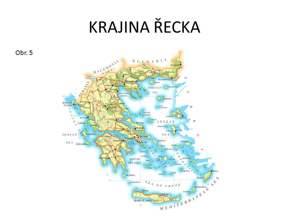 ŘECKO FAKTA A ČÍSLA: Rozloha: 132 000 km 2 Počet obyvatel: 10 600 000 Hlavní město: Athény (3 100 000) Státní zřízení: republika Úřední jazyk: řečtina Měna: Euro Hlavní náboženství: křesťanství – řeckokatolické (pravoslavné) HDP: 13 900 US dolarů Řecku patří přes 2 000 ostrovů, největším je Kréta