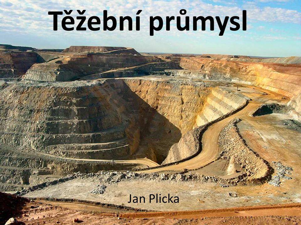 Těžební průmysl odvětví průmyslu, týká se hlavně těžby (dobývání) přírodních zdrojů z povrchu planety např.