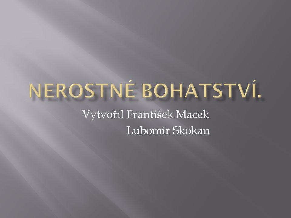 Vytvořil František Macek Lubomír Skokan