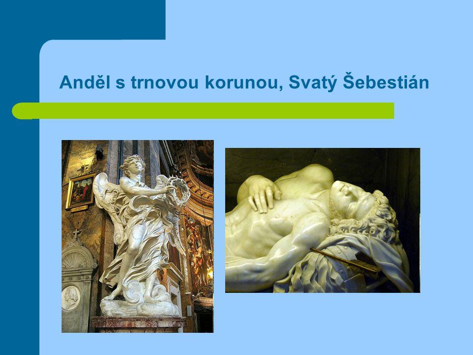 Anděl s trnovou korunou, Svatý Šebestián