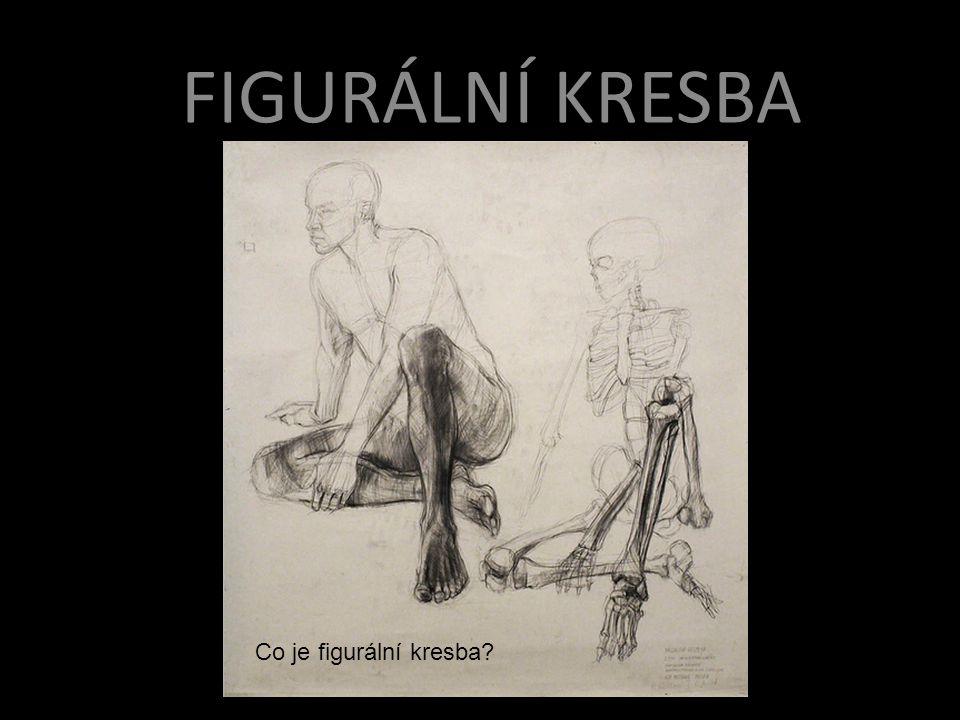 Figurální kresba FIGURÁLNÍ KRESBA Co je figurální kresba?