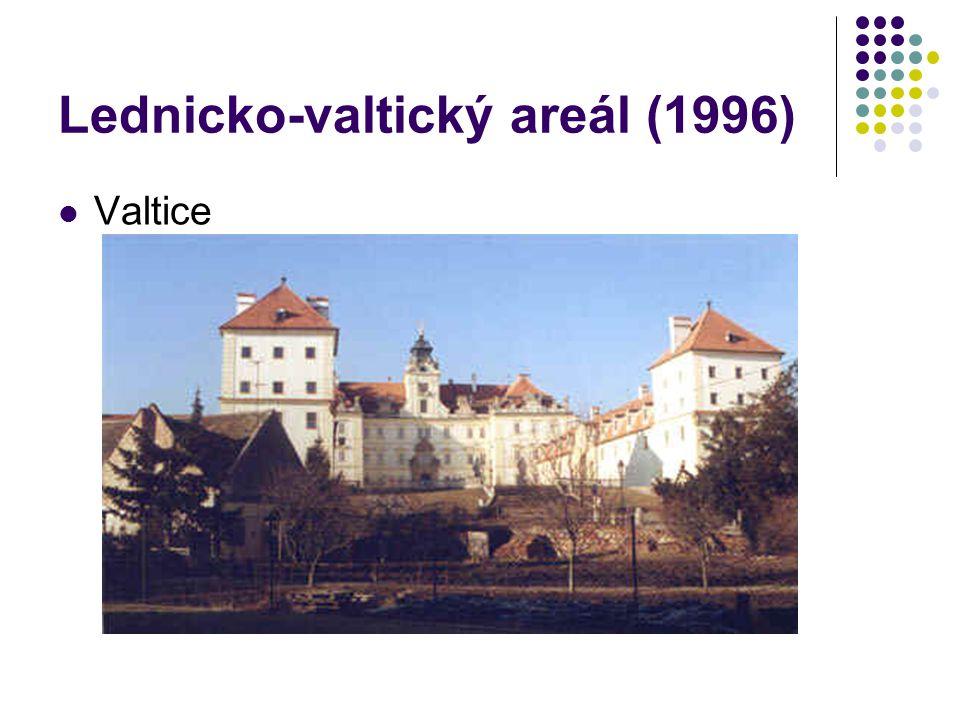 Lednicko-valtický areál (1996) Valtice