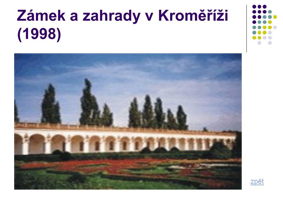 Zámek a zahrady v Kroměříži (1998) zpět