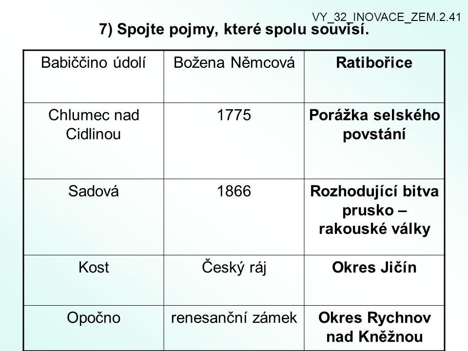 8) Obyvatelstvo Královéhradeckého kraje.Doplňte text.