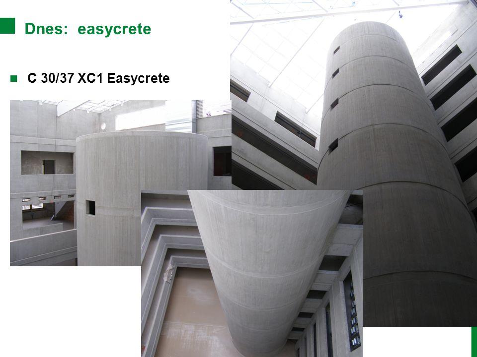 Dnes: easycrete C 30/37 XC1 Easycrete