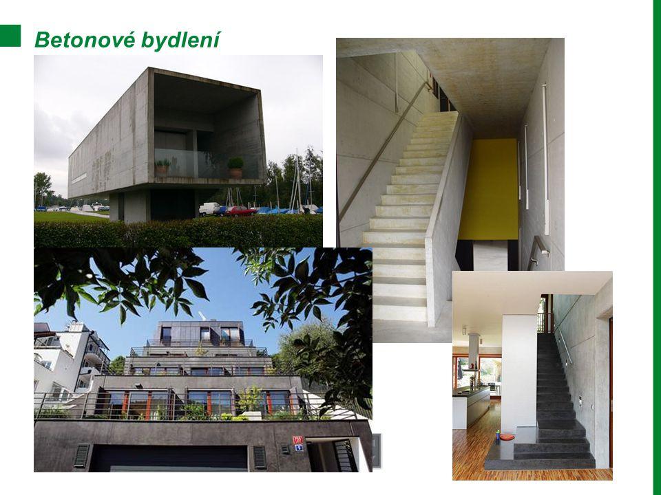 Betonové bydlení
