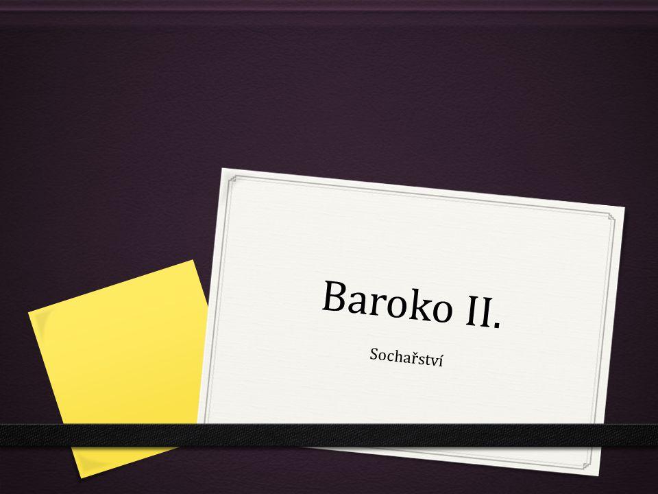 Baroko II. Sochařství