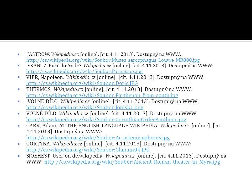  JASTROW.Wikipedia.cz [online]. [cit. 4.11.2013].