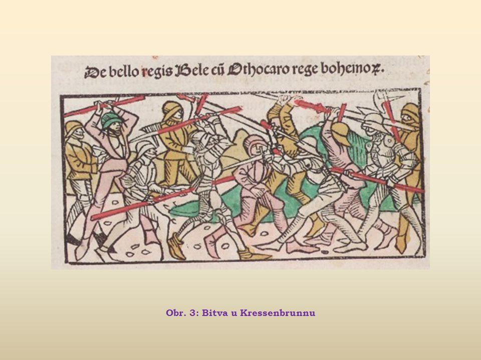 Obr. 3: Bitva u Kressenbrunnu