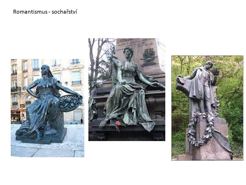 Romantismus - sochařství