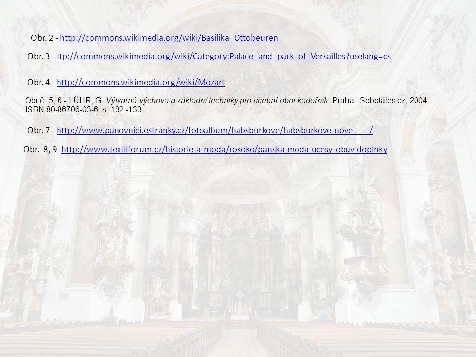 Obr.č. 5, 6 - LÜHR, G. Výtvarná výchova a základní techniky pro učební obor kadeřník. Praha : Sobotáles cz, 2004. ISBN 80-86706-03-6. s. 132 -133 Obr.
