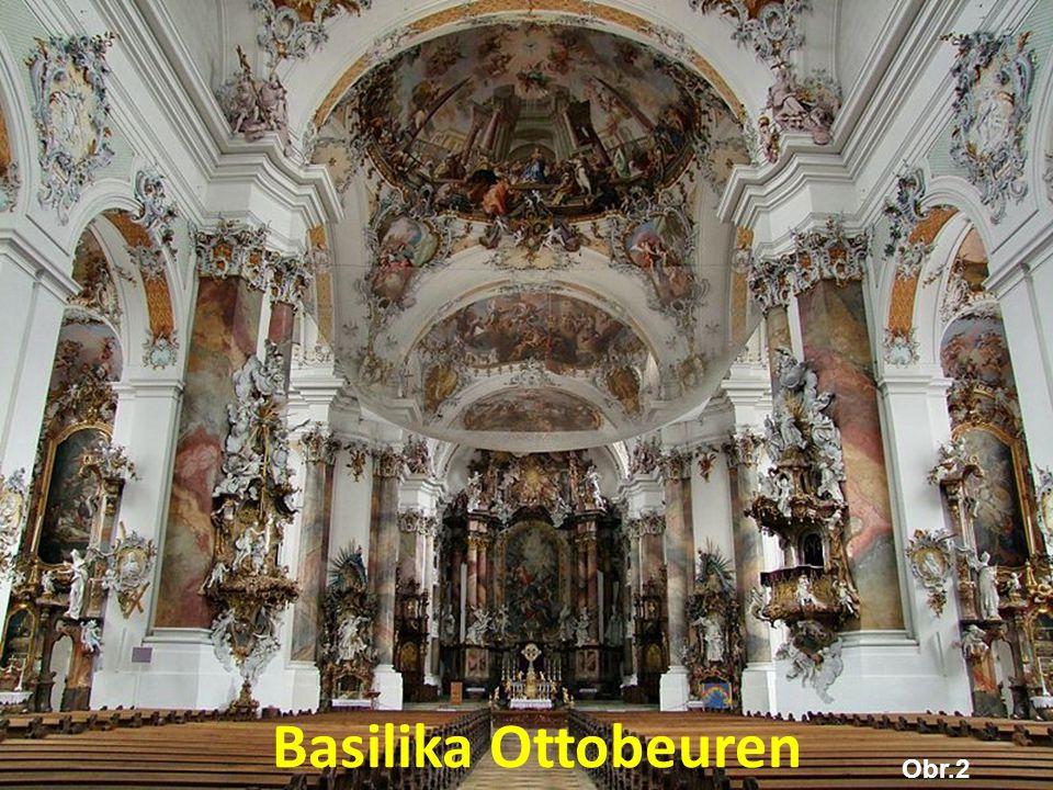 Obr.2 Basilika Ottobeuren