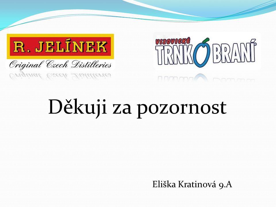 Děkuji za pozornost Eliška Kratinová 9.A