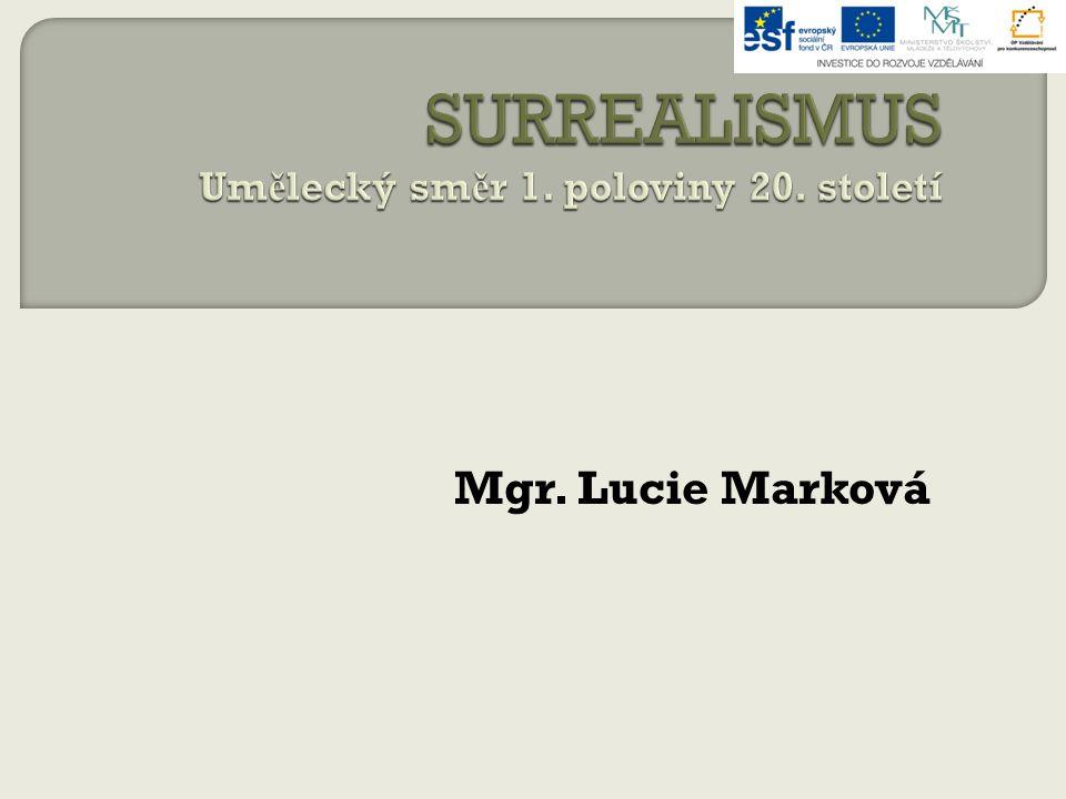 Mgr. Lucie Marková
