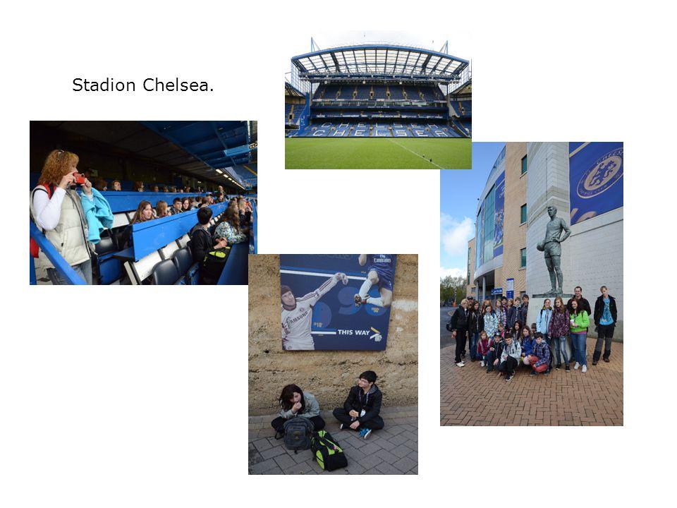 Stadion Chelsea.