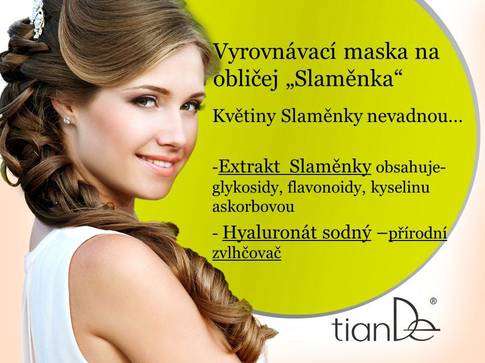 """Vyrovnávací maska na obličej """"Slaměnka"""" Květiny Slaměnky nevadnou… - Extrakt Slaměnky obsahuje- glykosidy, flavonoidy, kyselinu askorbovou - Hyaluroná"""