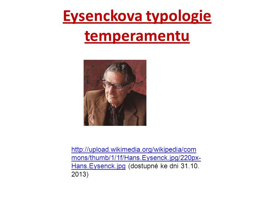 Eysenckova typologie temperamentu http://upload.wikimedia.org/wikipedia/com mons/thumb/1/1f/Hans.Eysenck.jpg/220px- Hans.Eysenck.jpghttp://upload.wiki