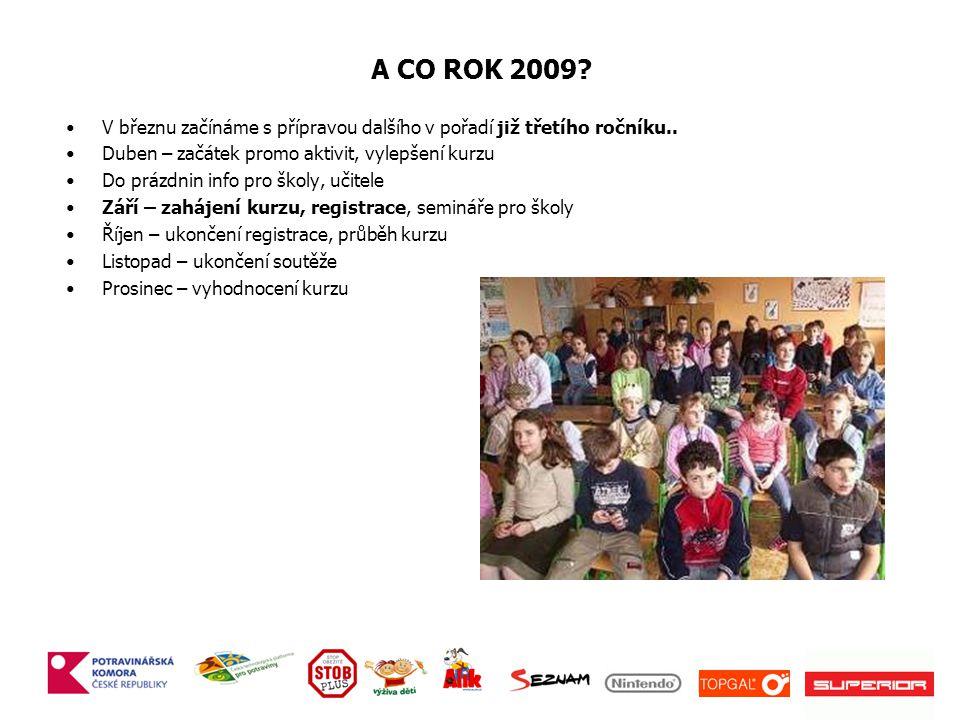 A CO ROK 2009.V březnu začínáme s přípravou dalšího v pořadí již třetího ročníku..