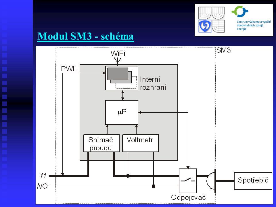 Modul SM3 - schéma