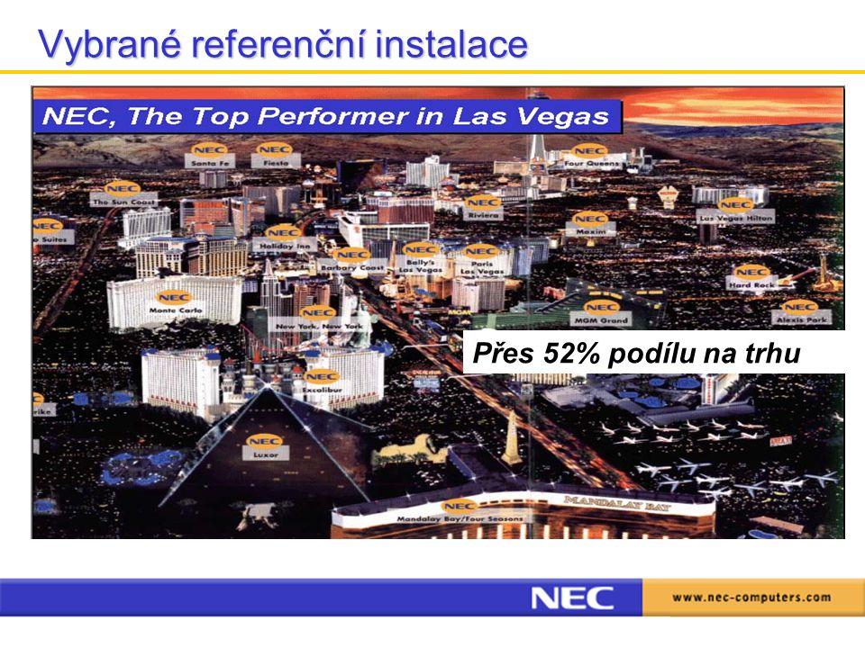 Vybrané referenční instalace Travelodge Travelodge –251 hotelů v UK, 51 dokončeno (13.500 pokojů), ukončení instalací v r.2005 –CAT telefony, propojení TALIA a PBX pro elektronické účtování hovorů Travel inn, Premier lodge Travel inn, Premier lodge –68 hotelů, 4.000 pokojů, ukončení instalací v říjnu r.2005 –Plán rozšíření do dalších hotelů řetězce během r.2006 – až 26.000 pokojů The Lodge on Loch Lomond The Lodge on Loch Lomond –nákup nových TV a integrace s PBX, využití multimediální nabídky služeb –nárůst používání oproti analogovému systému 35% Hylands hotel Hylands hotel –Rychlé připojení k internetu (HSIA) pro business klientelu –Nárůst použití VOD proti analogovému systému o 40% Přes 52% podílu na trhu