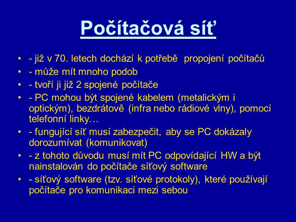 7 vrstev ISO/OSI