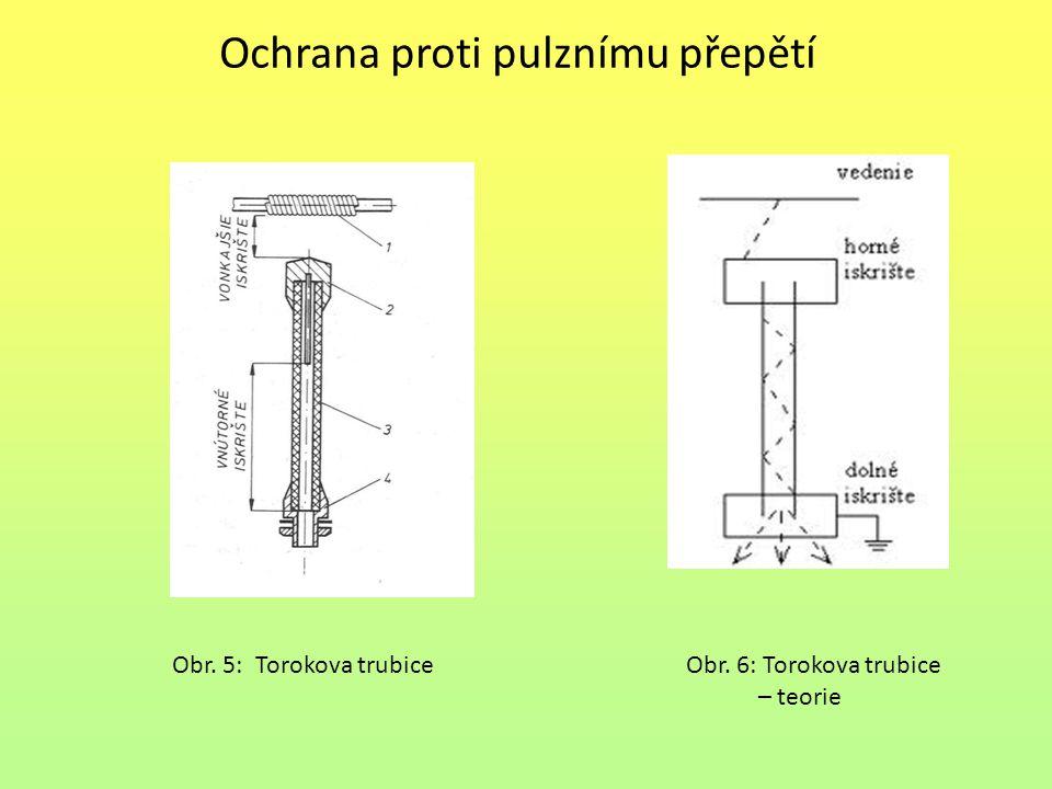 Ochrana proti pulznímu přepětí Obr. 5: Torokova trubiceObr. 6: Torokova trubice – teorie