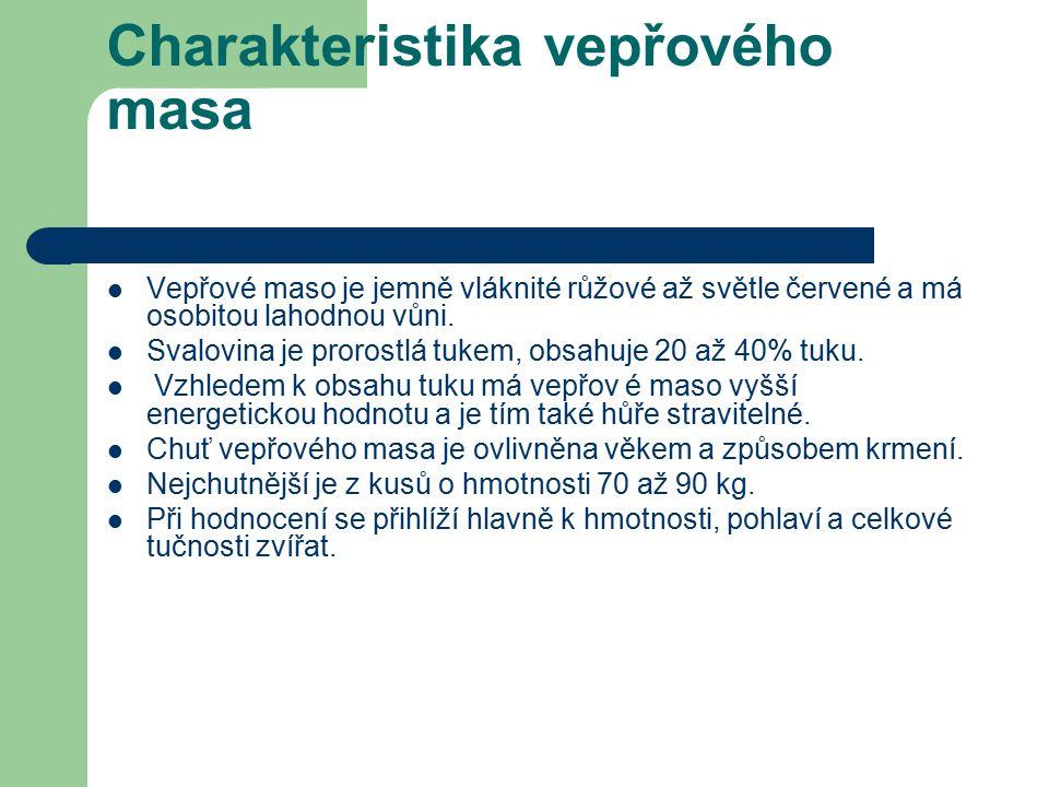 Použité zdroje http://www.cschms.cz/DOC_HOVEZID/111_Hovezi_a_veprove_maso.pdf Pokud není uvedeno jinak, jsou použité objekty vlastní originální tvorbou autora.