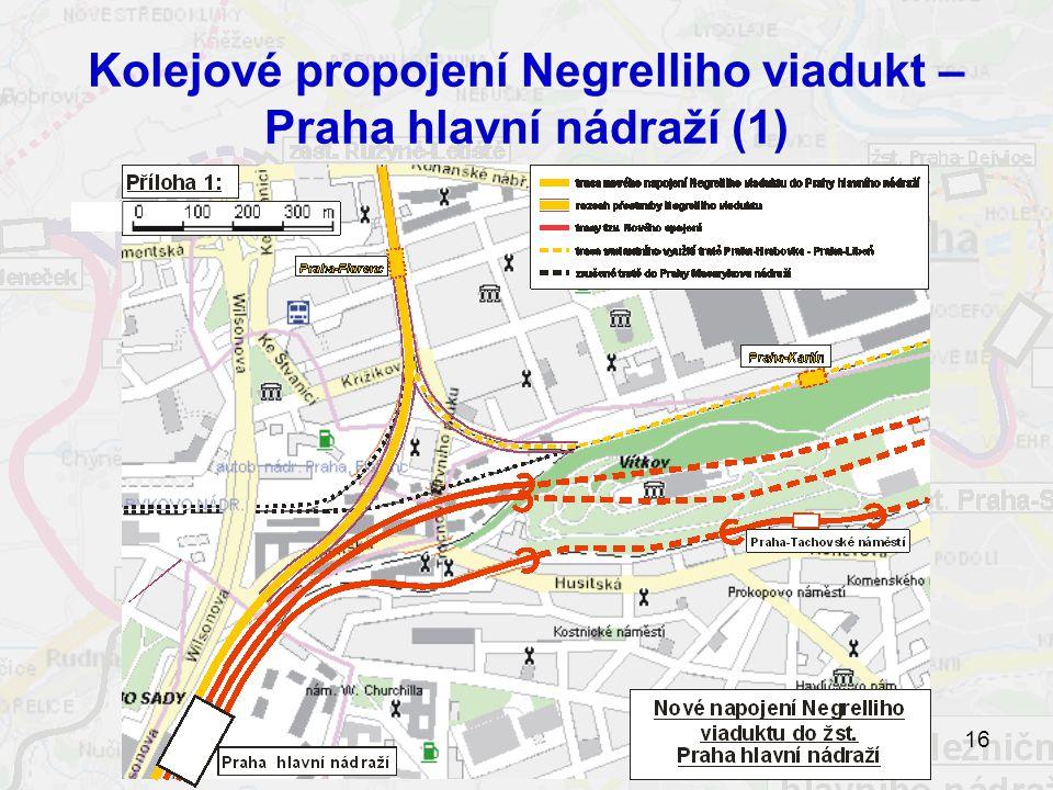 16 Kolejové propojení Negrelliho viadukt – Praha hlavní nádraží (1)