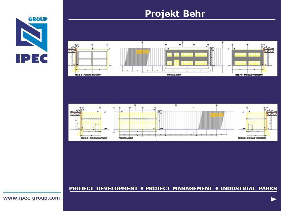 www.ipec-group.com Projekt Behr PROJECT DEVELOPMENT PROJECT MANAGEMENT INDUSTRIAL PARKS