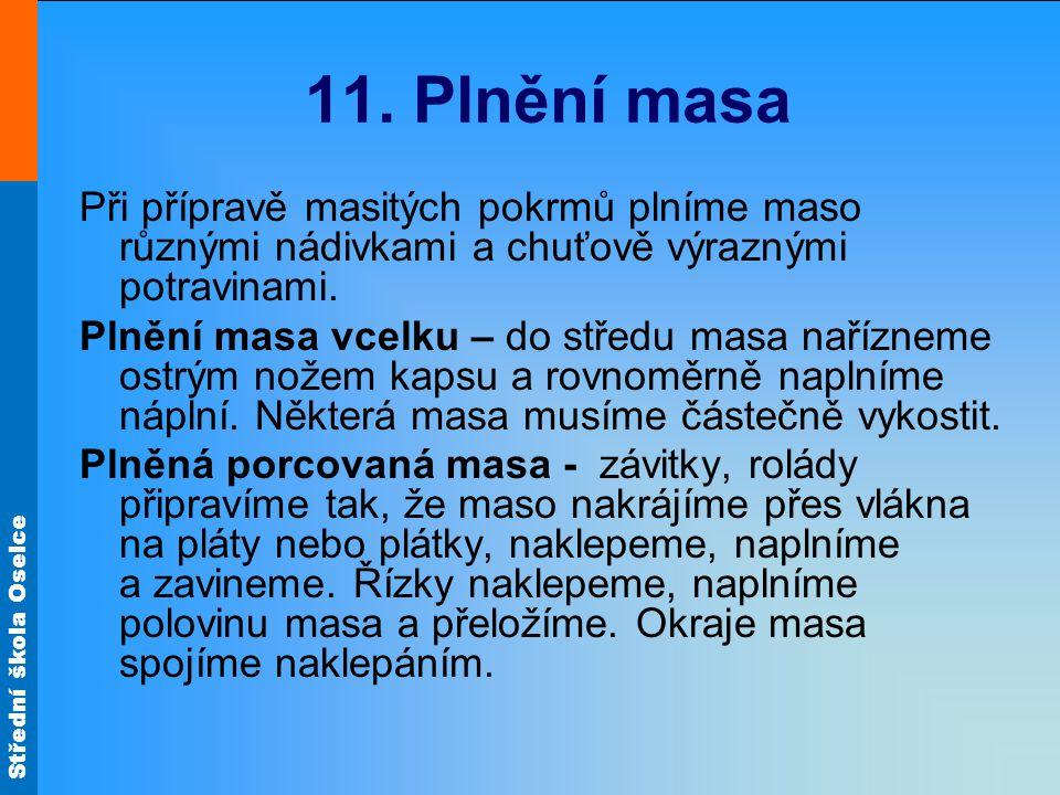 Střední škola Oselce 11.