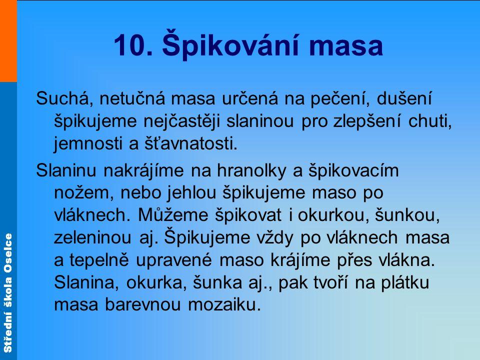 Střední škola Oselce 10.