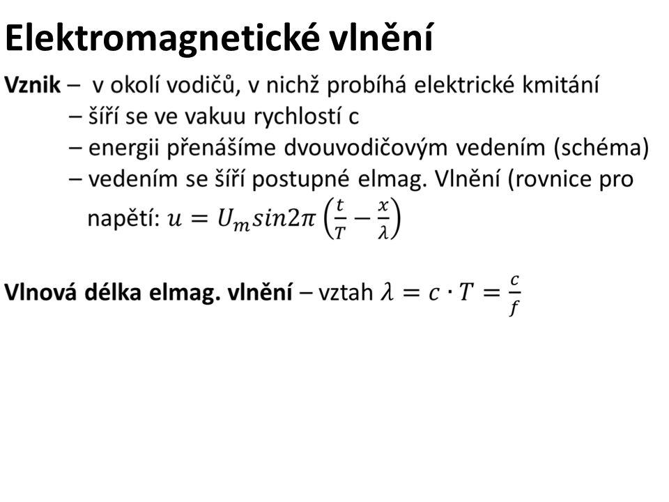 Elektromagnetické vlnění