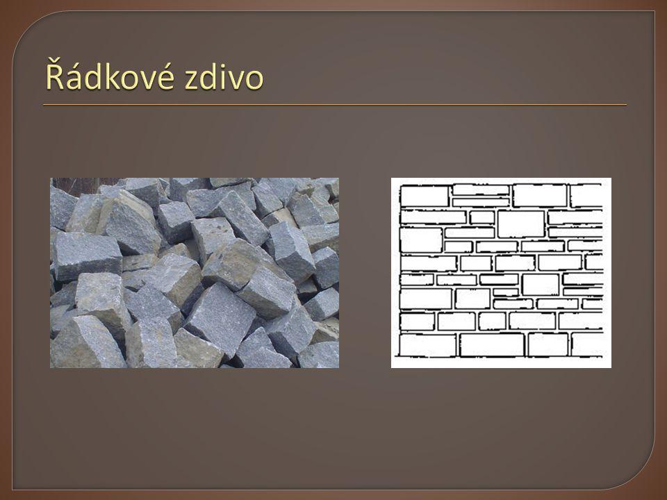  Vibrolisovaný beton  Pro vnitřní i obvodové zdivo  Snadná výstavba  Možno použít i jako ztracené bednění  Přidání ocel.