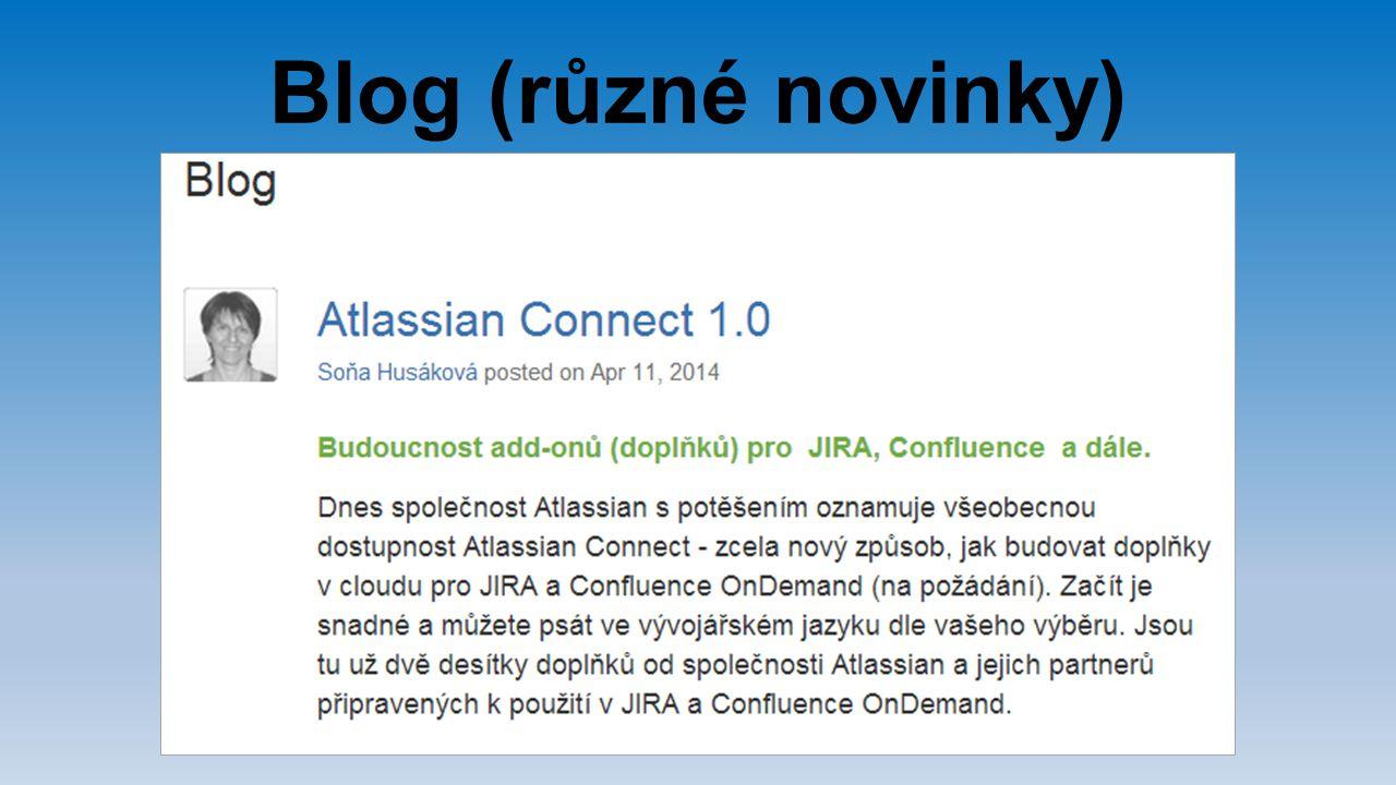 Blog (různé novinky)