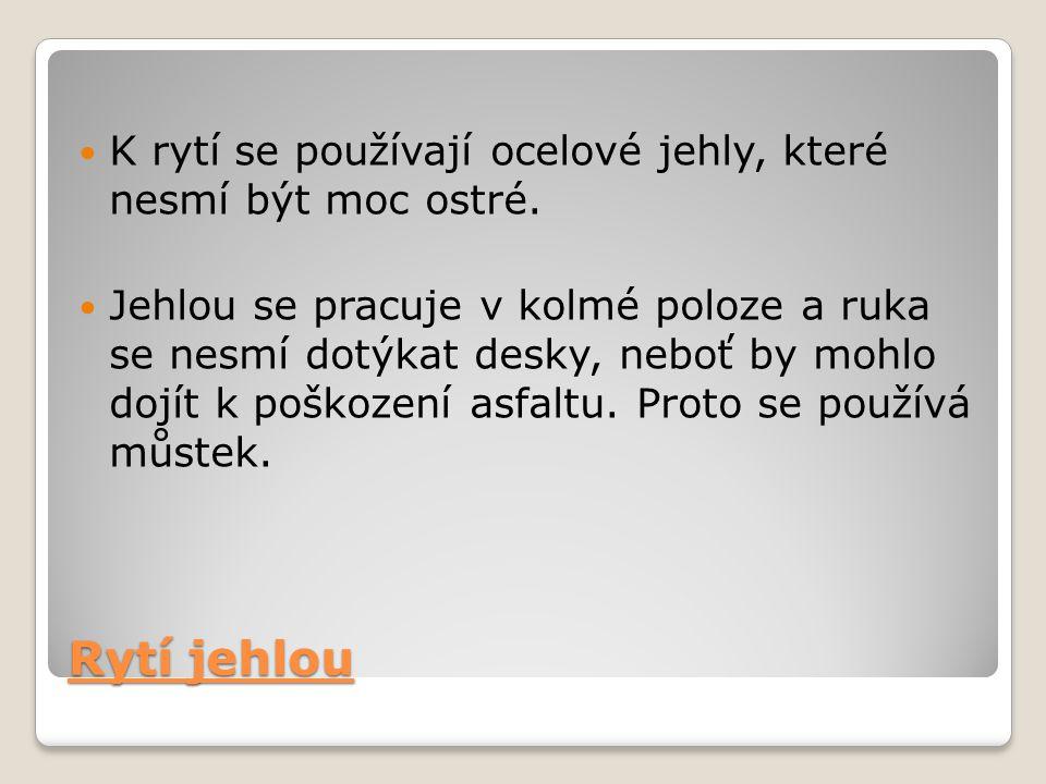 Jehly a můstek Zdroj: Zdobení keramiky - autorka Ilona Nová ; SPN č. 86-80-26/1