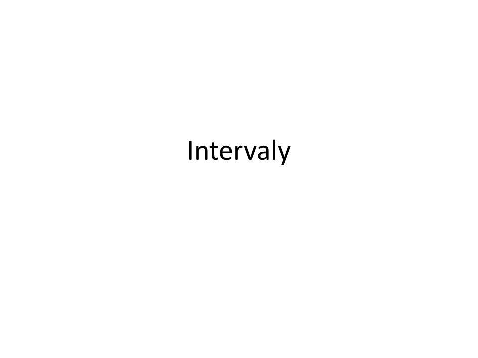 Druhy intervalů MnožinaZobrazení na číselné ose ZápisNázev intervalu Uzavřený interval a,b Otevřený interval a,b Polouzavřený interval a,b zleva uzavřený Polouzavřený interval a,b zprava uzavřený Uzavřený interval od a do plus nekonečna Otevřený interval od a do plus nekonečna Uzavřený interval od mínus nekonečna do a Otevřený interval od mínus nekonečna do a