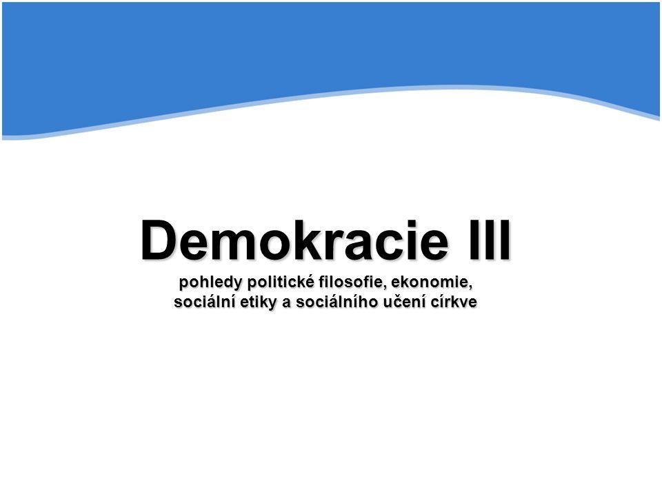 """Gasset Gasset - kulturní úpadek a tendence k totalitě Caplan Caplan - Mýtus racionálního voliče Arrow Arrow - """"teorém nemožnosti , cyklické většiny Schumpeter Schumpeter – """"demokratický elitář Sartori Sartori - """"revoluce rostoucího očekávání Argumenty pro oslabení demokracie"""