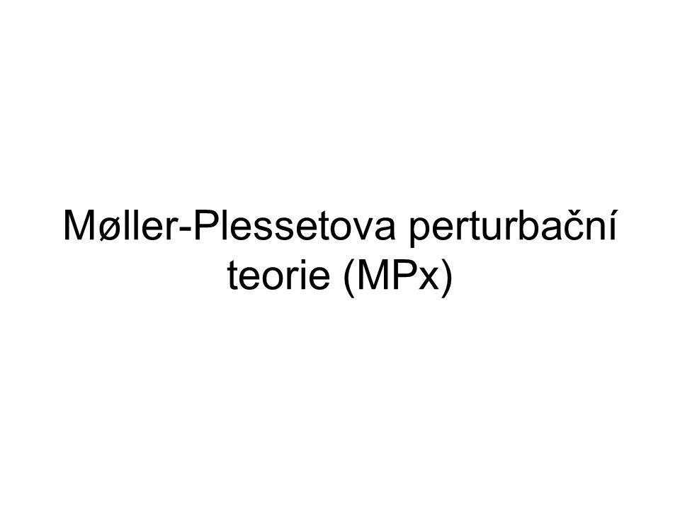 Møller-Plessetova perturbační teorie (MPx)