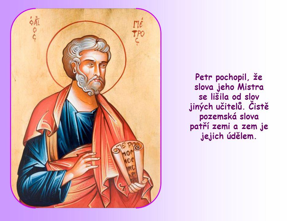 """Pane, ke komu půjdeme? Ty máš slova věčného života."" (Jan 6,68)"