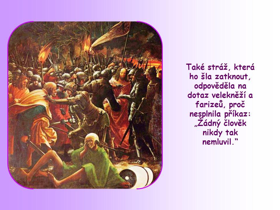 K zástupům, které se sbíhaly, hovořil Ježíš o Božím království.