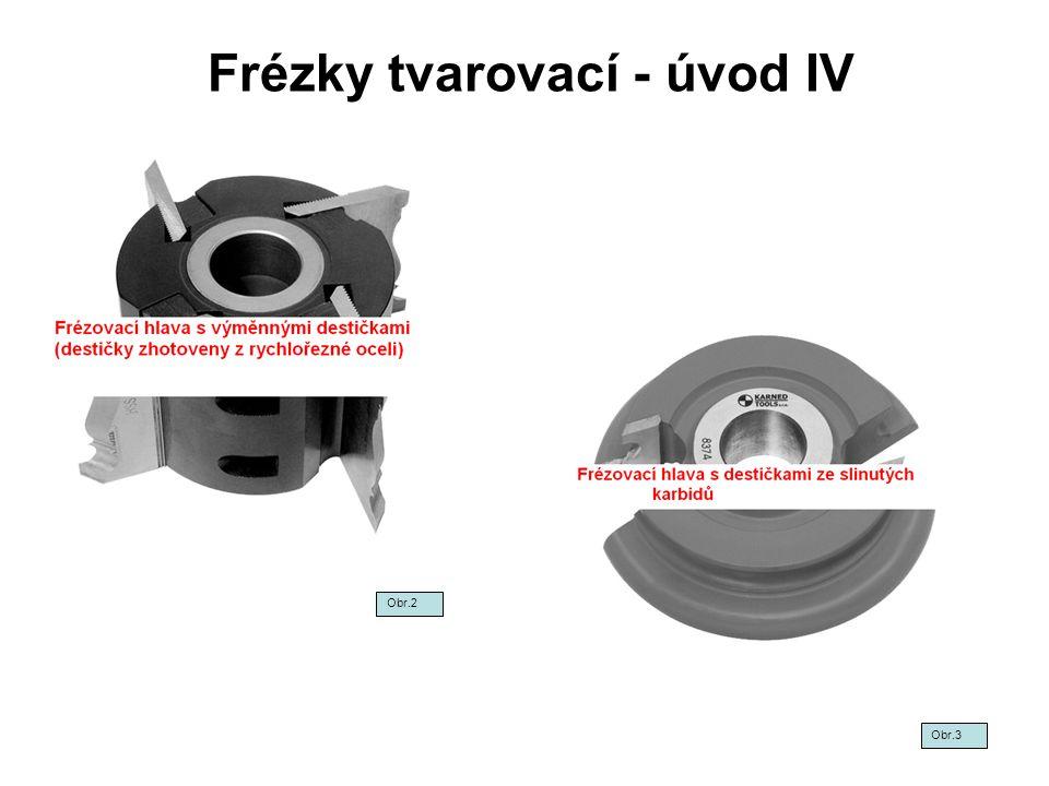 Frézky tvarovací - úvod IV Obr.2 Obr.3