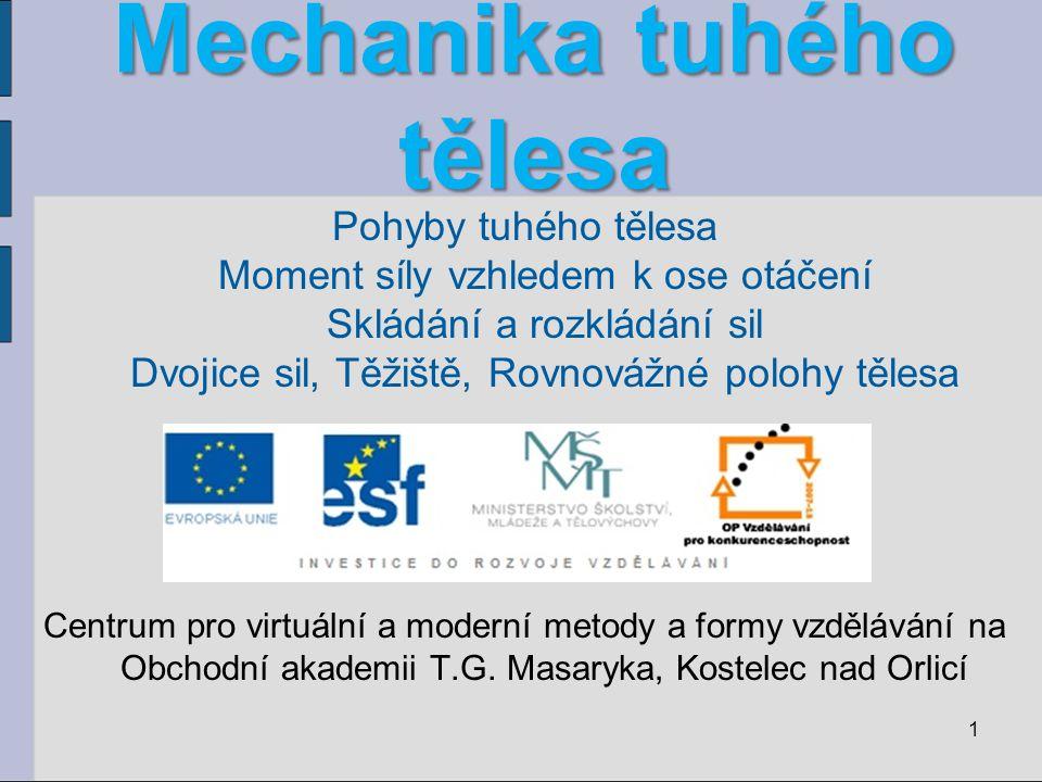 22 Použitá literatura a www stránky Fyzika pro gymnázia - Mechanika RNDr.
