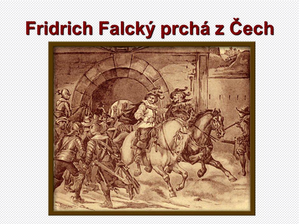 Fridrich Falcký prchá z Čech