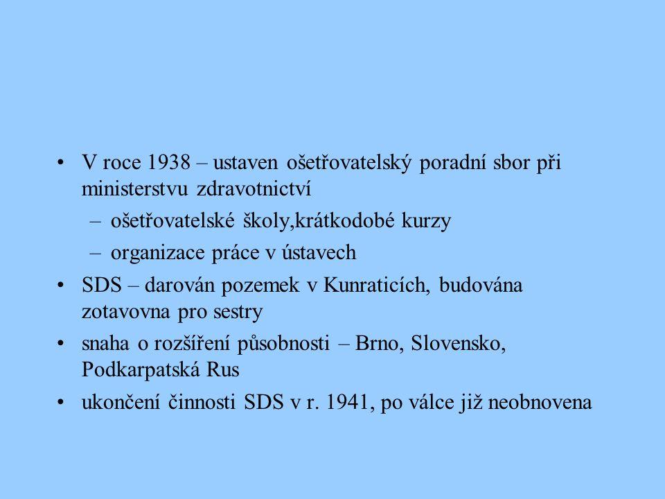 ČSS - Česká společnost sester vznik v roce 1973 navázala na tradice SDS nemohla pracovat jako samostatná organizace – součást Československé lékařské společnosti JEP společně se Slovenskou společností sester tvoří federální sdružení Československé společnosti sester, členem ICN od r.