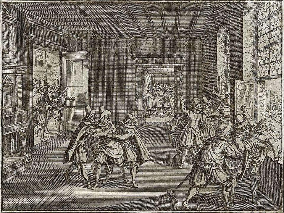 zvolena nová vláda - Direktorium, nové vojsko a zvolen i nový král nekatolík Fridrich Falcký stavovské vojsko nejdříve menší úspěchy - pak nástup Ferdinanda II.