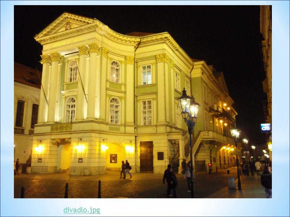 * Mozart zde uvedl opery Figarova svatba a Don Giovanni * V provozu od roku 1783, dnes je součástí Národního divadla * Jmenovalo se také: Nosticovo, N