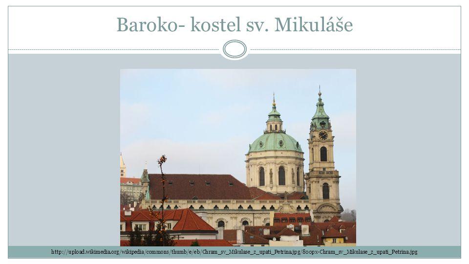 Baroko- kostel sv.